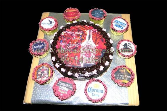 WINE BRANDS CAKE & CUPCAKES