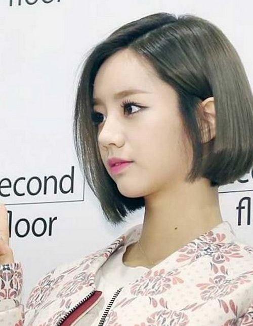 Neue Kurze Frisuren Fur Gerade Asiatische Haare Neue Haare Modelle Bob Frisur Asiatische Frisuren Frisuren Kurz