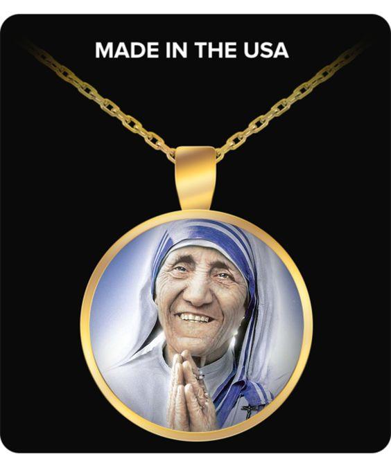 St. Teresa of Calcutta - Gold Plated