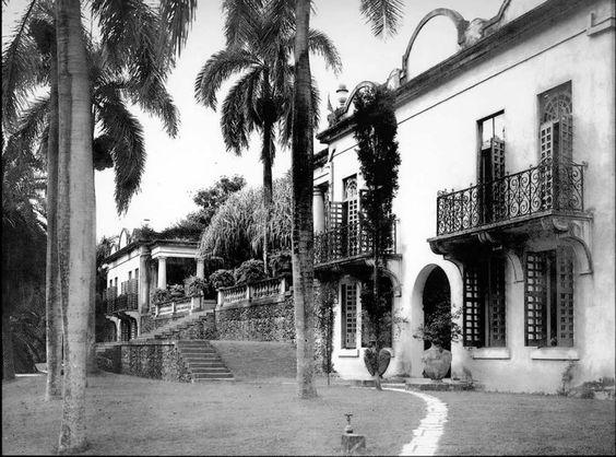 Edificio Jardín Botanico en Rio Piedras, Puerto Rico, año 1909.