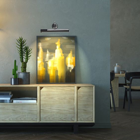 ピクチャーライト 照明 ブラケット コーディネート例 イメージ