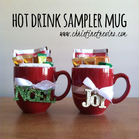 Diy Christmas Mugs And Gifts On Pinterest
