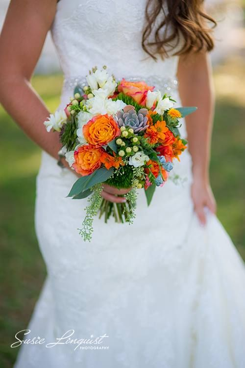 Elegant fall bouquet by the always perfect Beautiful Flowers by June...
