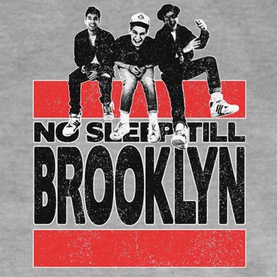 Beastie Boys – No Sleep till Brooklyn (single cover art)