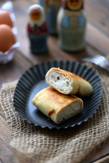 Recette - Blinchiki , crêpe russe au fromage blanc | 750g