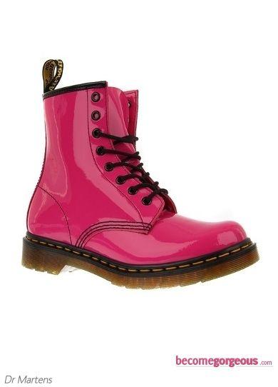 Dr. Martens Hot Pink Boots // yo los kiero