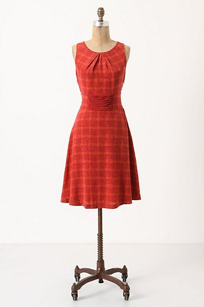 Goji plaid dress from Anthro