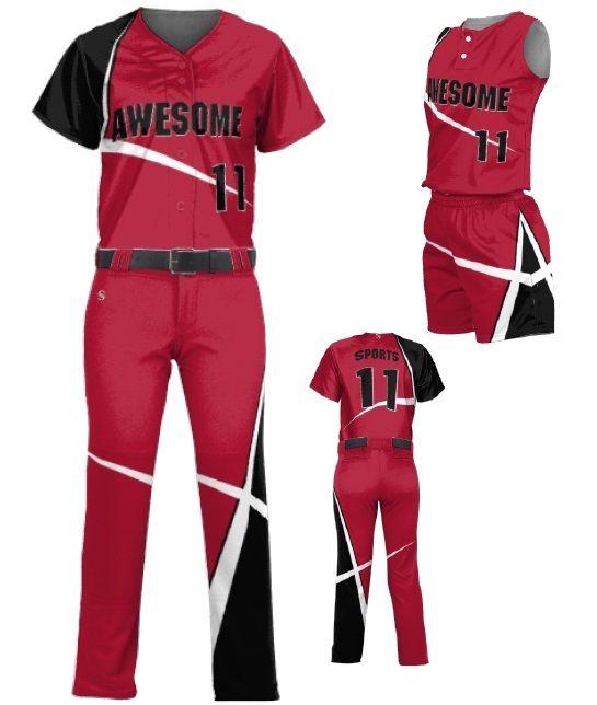Teamwork Custom Softball Uniforms Stellar Custom Softball Softball Uniforms Softball Team Gifts