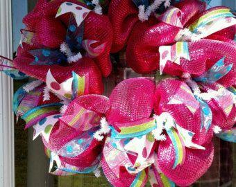 Custom wreath for Liesa by BCsCraftyCreations on Etsy