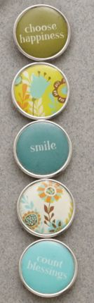 Choose Happiness Mini Charm Set $7.95