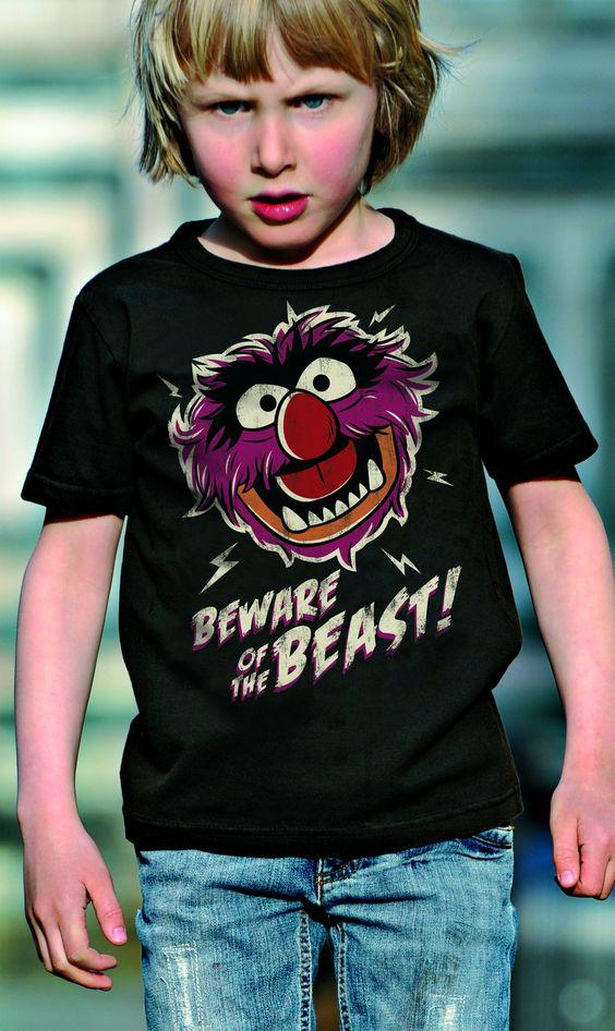 Muppet Show The Animal Kids T-Shirt - Logoshirt