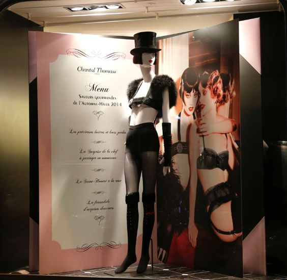 octobre 2014 boutique chantal thomass 211 rue saint honor paris chantalthomass lingerie. Black Bedroom Furniture Sets. Home Design Ideas