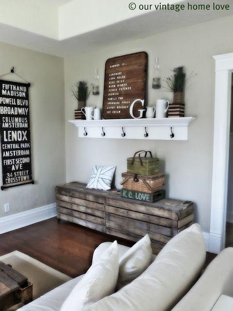 Our Vintage Home blog