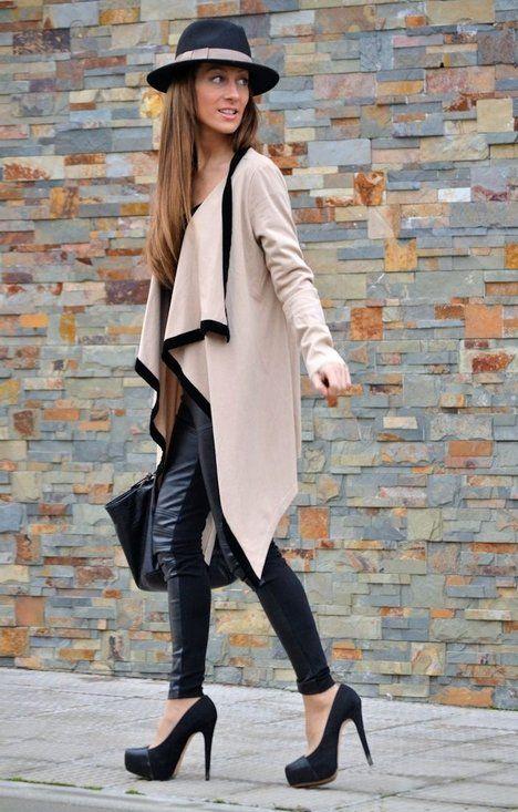 CHAQUETA VJ STYLE  , VJ-STYLE.COM in Jackets, Zara in Heels / Wedges, Sfera in Hats