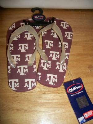 P402 TEXAS A FLIP FLOPS SIZE SMALL NEW