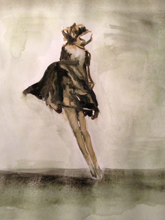 #dancing #illustration #editorial #aquarell #art #design