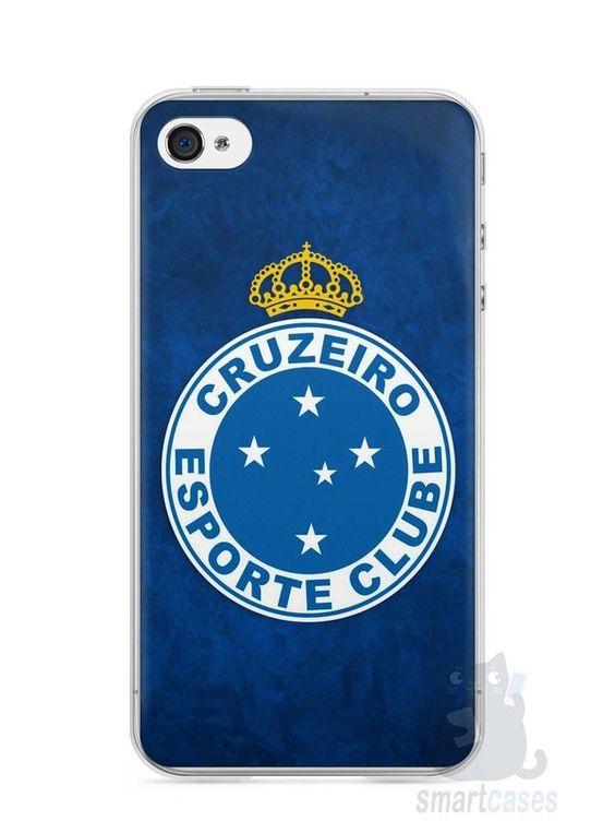 Capa Iphone 4/S Time Cruzeiro #3 - SmartCases - Acessórios para celulares e tablets :)