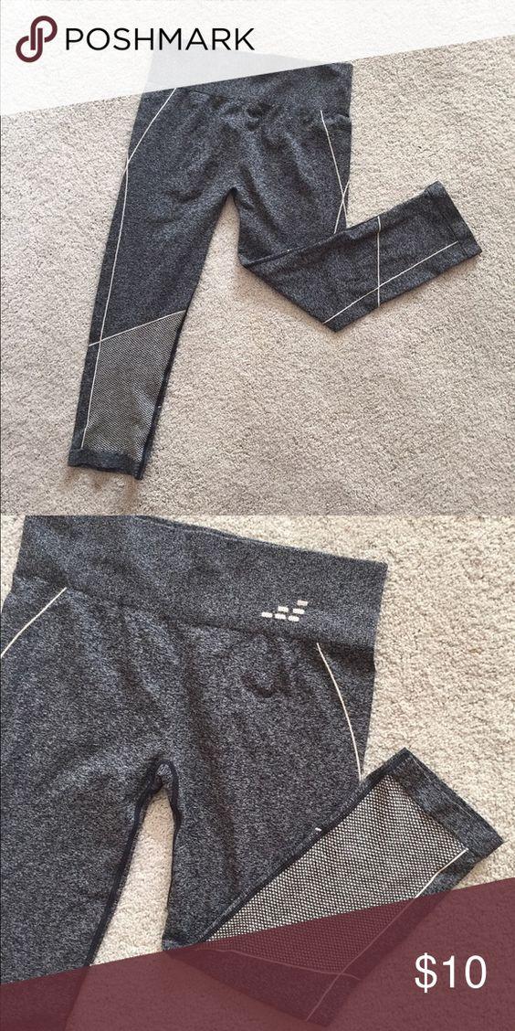 BCG crop leggings Great leggings with ventilation. Thin enough for summer heat! BCG Pants Leggings