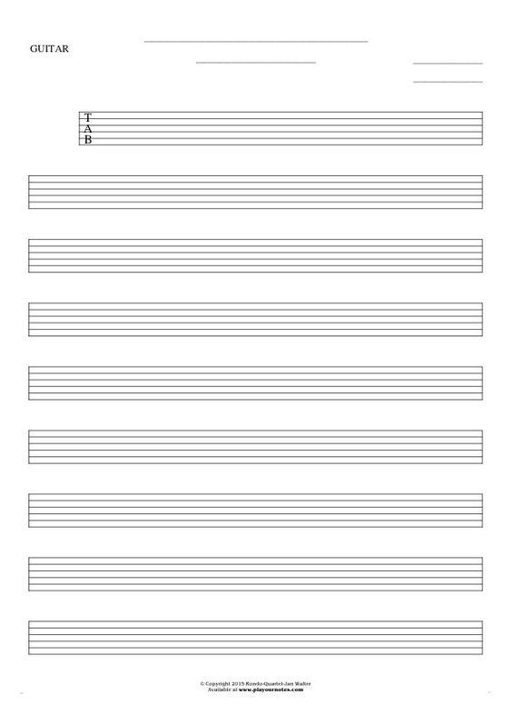 Guitar guitar tablature sheets : Guitar, Sheet music and Music sheets on Pinterest