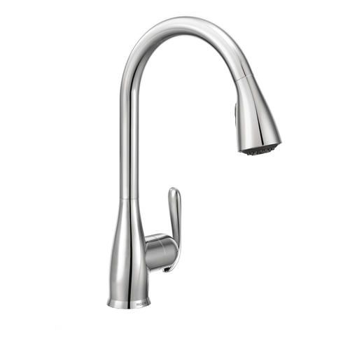 Moen Haysfield One Handle Pull Down Kitchen Faucet With Reflex