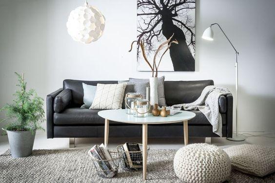 Lys og nordisk stue. se mere på http://www.madogbolig.dk ...