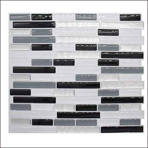 New Diy Kitchen Backsplash Mosaic Tile Wallpaper 3d Wall Stickers Home Decor Waterproof Pvc Bathroom 3d Wall Tiles Wallpaper Walls Bedroom Kitchen Wall Decals