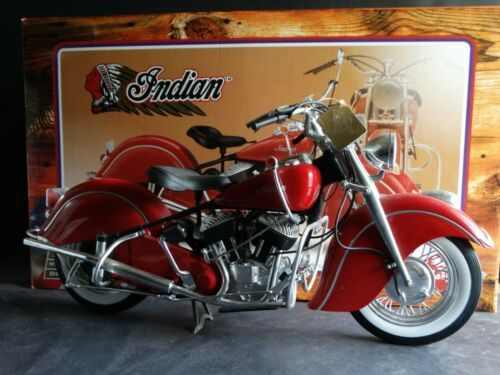 Guiloy 1948 Indian Chief Motorcycle 1 6 Scale Model Bike Collection Motorcycle Model Plastic Model Kits Scale Models