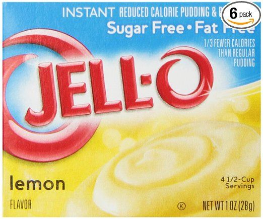 Jell-O Sugar-Free Instant Pudding and Pie Filling, Lemon 6-count Only $3.08 Shipped!