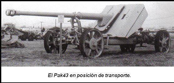 Artillería: El PaK 43 de 88mm