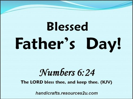 father's day biblical messages