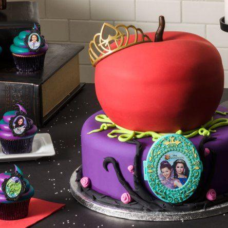 Tortas descendientes 5 tortas pinterest for Decoracion de tortas espejo