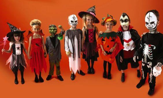 kinder orange wand kostüme ideen günstig