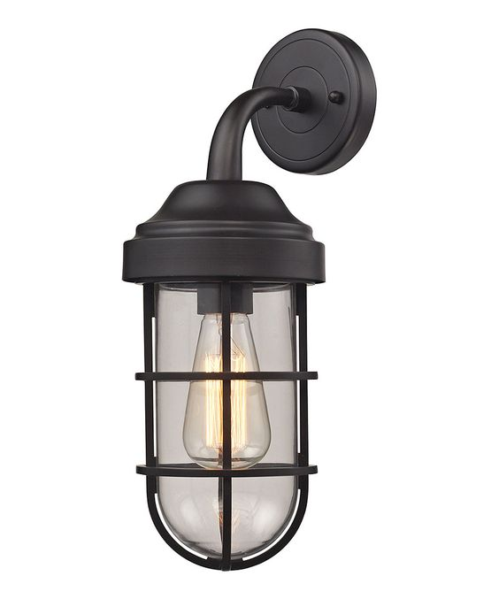 Love this Oil Rubbed Bronze Seaport Sconce by Elk Lighting on #zulily! #zulilyfinds
