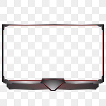 Streaming Overlay For Live Game Red Dark Metal Live Vector Stream Png And Vector With Transparent Background For Free Download Photo Logo Design Overlays Transparent Youtube Design