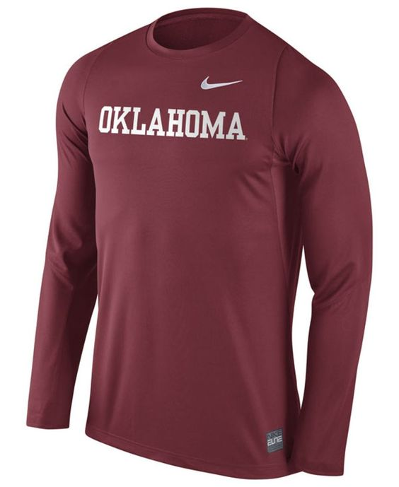 Nike Men's Oklahoma Sooners Elite Basketball Shooter T-Shirt