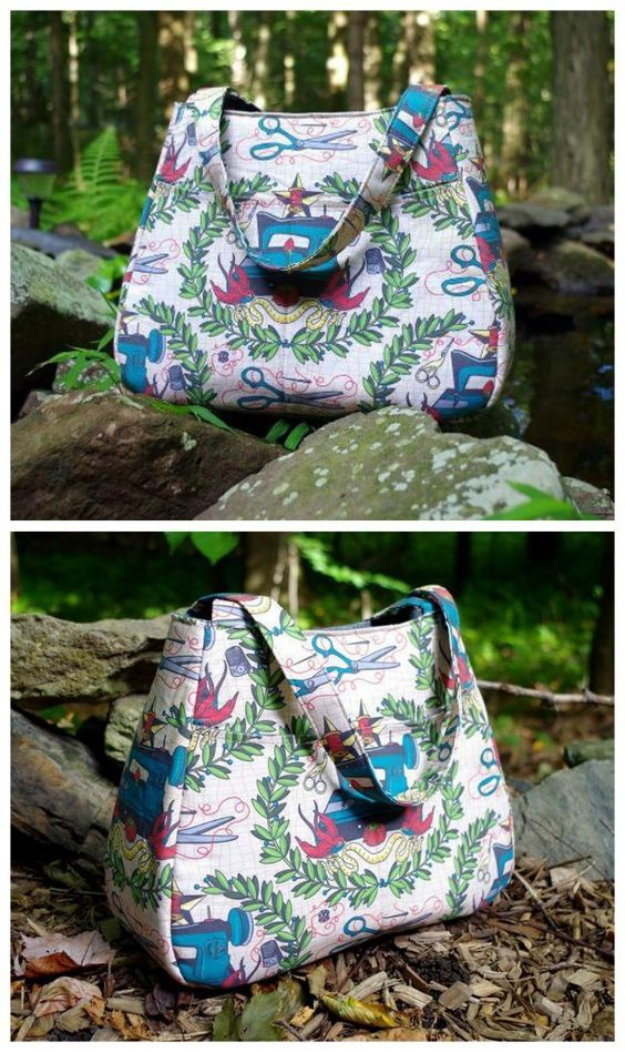 If you've never sewn a bag before and want to make something you can be proud of, then the free sewing pattern for this Ethel purse is what you need. I've made 3 and love them all!