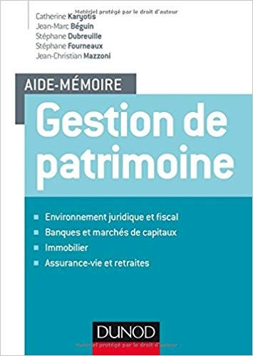 Aide Memoire Gestion De Patrimoine Pdf Gratuit Telecharger Livre What To Read Books To Read Ebook