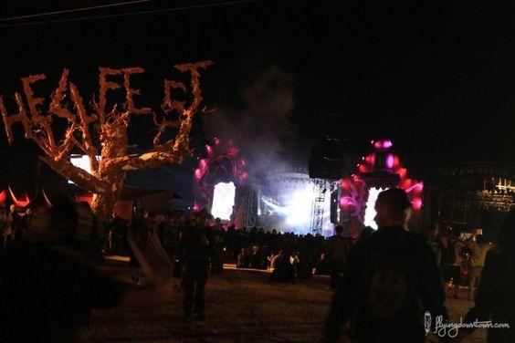 La deco du hellfest 2015 était juste sublime !