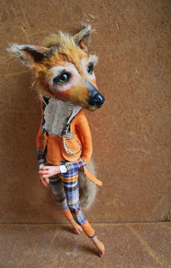 Fox marionette by Owczarowa