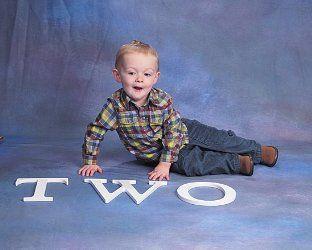 The Henrys: 2nd Birthday Portraits