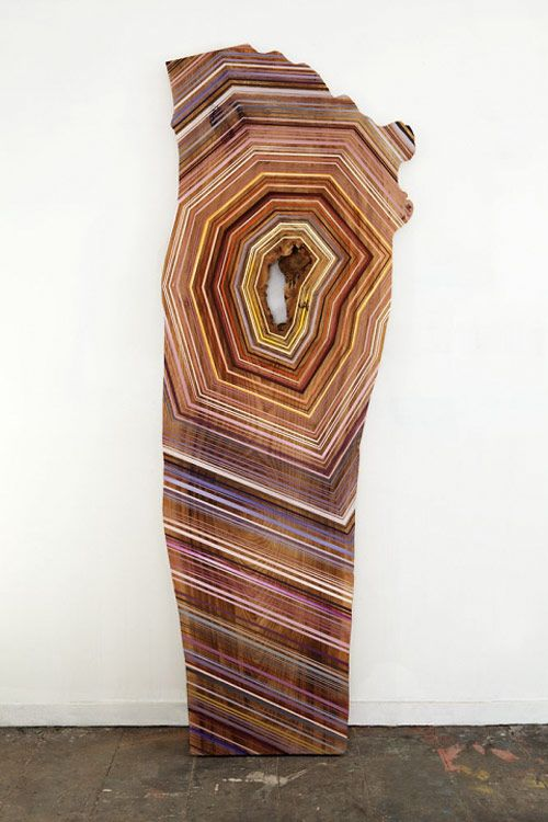 Paintings on wood by Jason Middlebrook