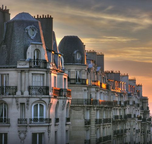 dusk.....Paris....stunning architecture everywhere you turn....perhaps the most beautiful city in the world.