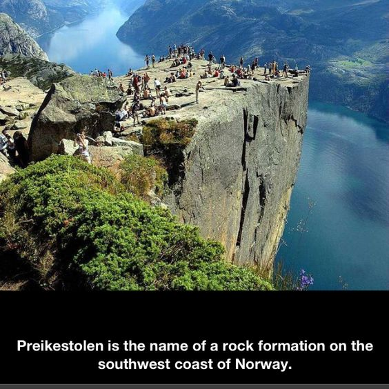 I want to go to Norway