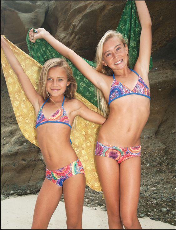 from Santino very young pre lola girls bikini pool