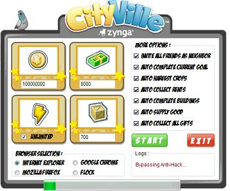 free cityville credits