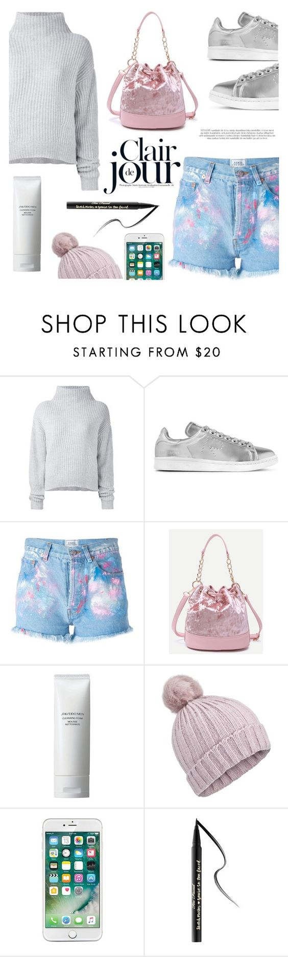 """Ten feet tall"" by nadialesa ❤ liked on Polyvore featuring Le Kasha, adidas Originals, Forte Couture, Shiseido, Miss Selfridge and Too Faced Cosmetics"