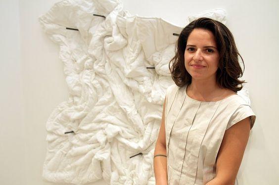 Gabriela Maciel na Galeria Inox. #artrio #ciga #compartilhearte