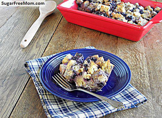 #GF Blueberry Breakfast Strata