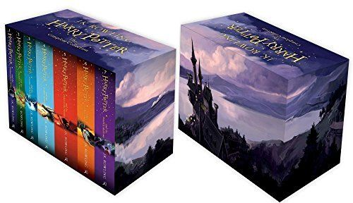Harry Potter Box Set The Complete Collection Children S Paperback Amazon Co Uk J K Rowling 9781408 Libros De Harry Potter Regalos De Harry Potter Libros