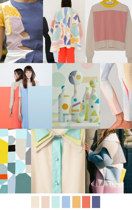 S/S 2017 colors & patterns trends: SOFT SHAPES